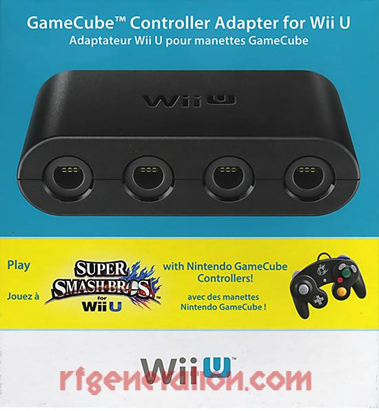 GameCube Controller Adapter  Box Front Image