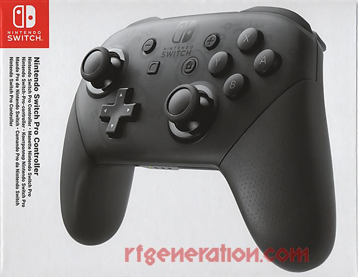 Pro Controller  Box Front Image