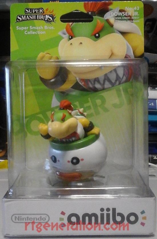 Amiibo: Super Smash Bros.: Bowser Jr.  Box Front Image