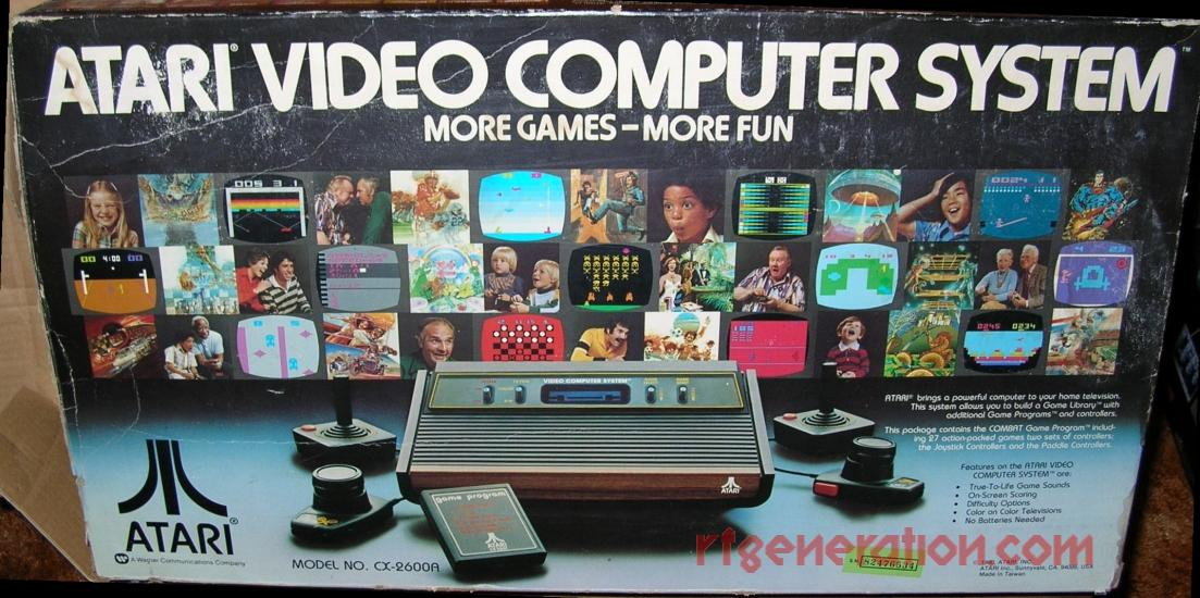 Atari Video Computer System 4-Switch  Box Front Image