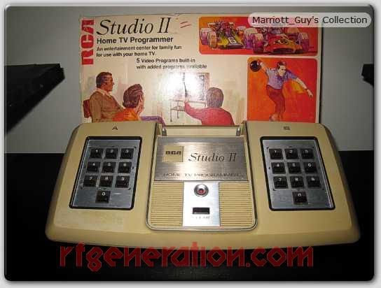 RCA Studio II  Box Front Image