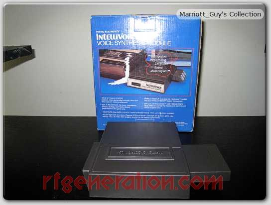 Mattel Intellivoice  Box Back Image