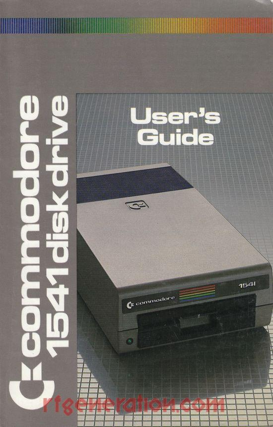 Commodore 1541 Disk Drive  Manual Scan