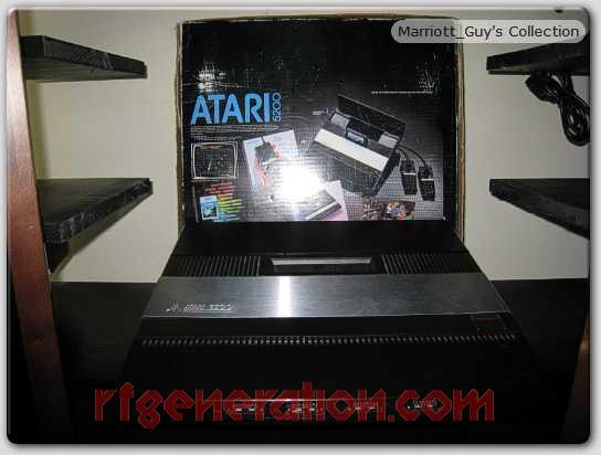 Atari 5200 4-port Box Back Image
