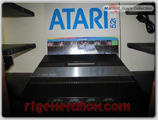 Atari 5200 4-port Box Front Image