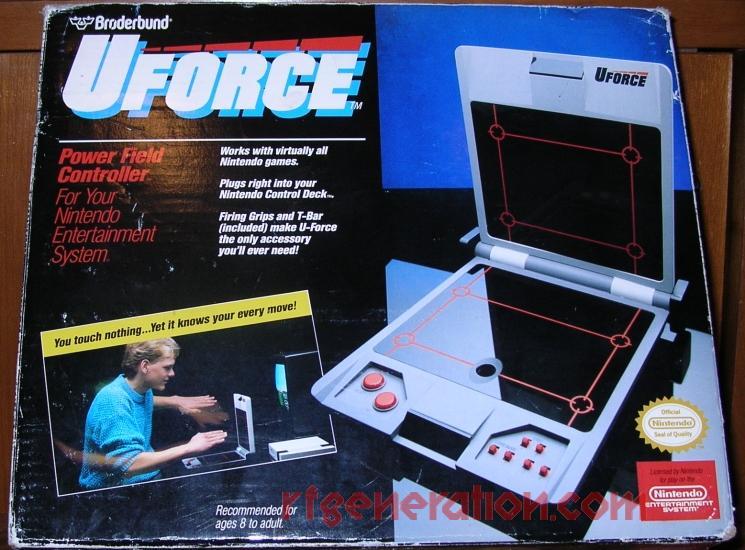 U Force  Box Front Image