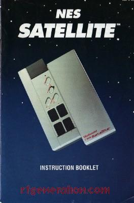 NES Satellite Remote Control Module Manual Scan
