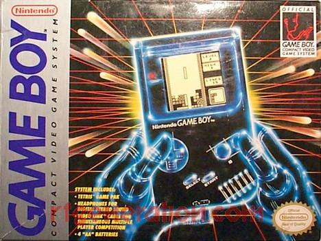 Nintendo Game Boy  Box Front Image