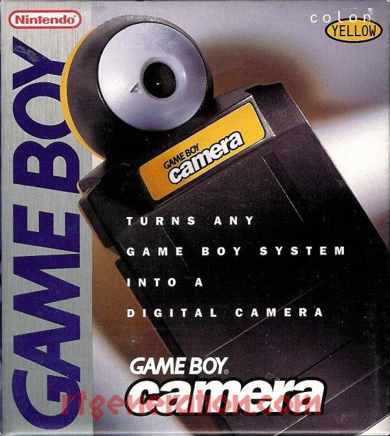 Game Boy Camera Yellow Box Front Image
