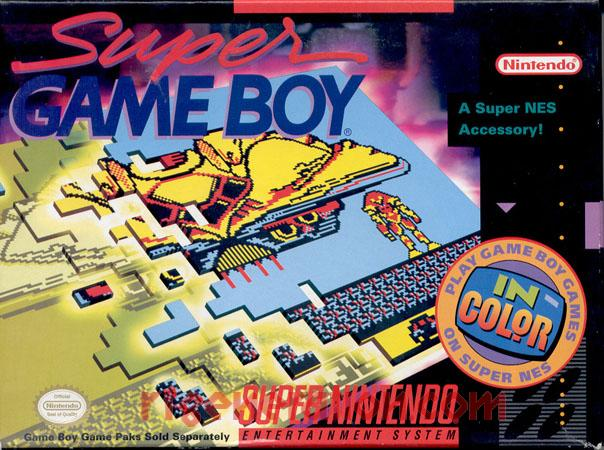 Super Game Boy  Box Front Image