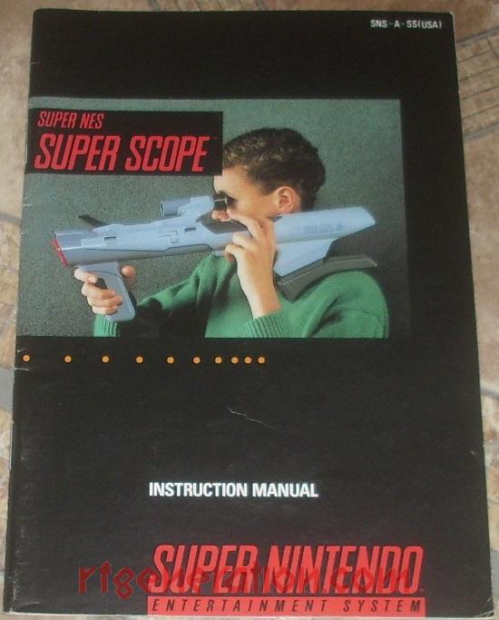 Super Scope  Manual Scan