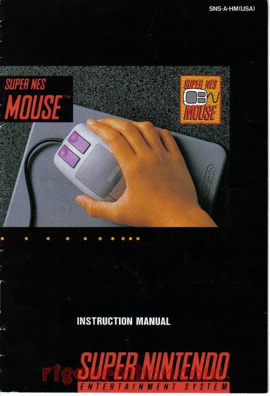 rf generation snes mouse nintendo snes manual scan rh rfgeneration com snes instruction manual scans SNES Manual PDF