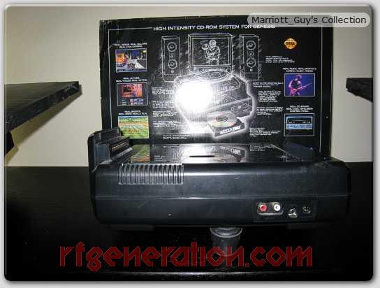 Sega CD  Box Back Image