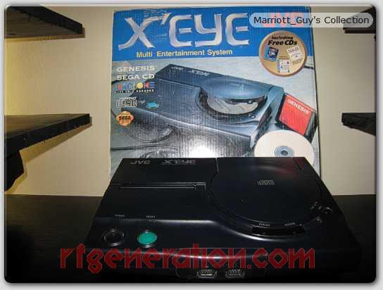 JVC X'Eye  Box Front Image