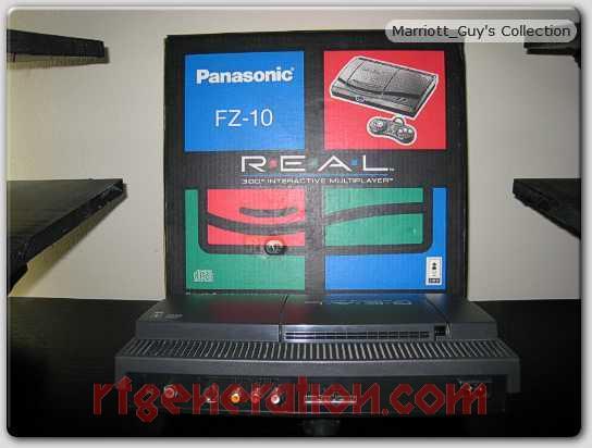 3DO Interactive Multiplayer Panasonic FZ-10 R.E.A.L. Box Back Image