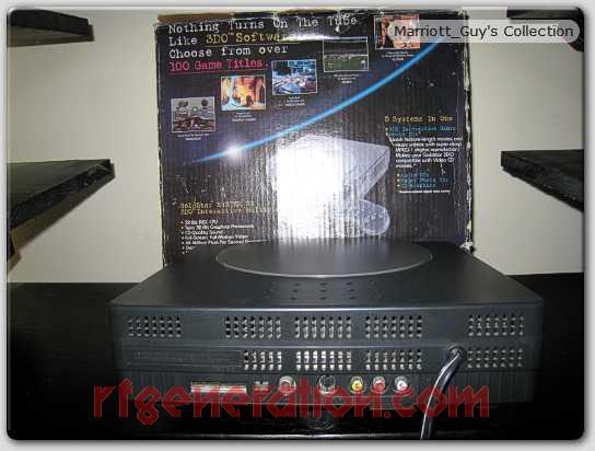 3DO Interactive Multiplayer Goldstar Box Back Image