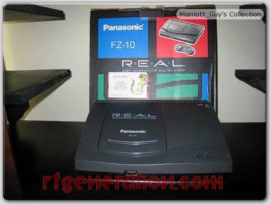 3DO Interactive Multiplayer Panasonic FZ-10 R.E.A.L. Box Front Image