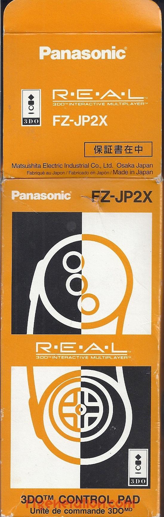 3DO Control Pad (FZ-JP2X)  Box Front Image