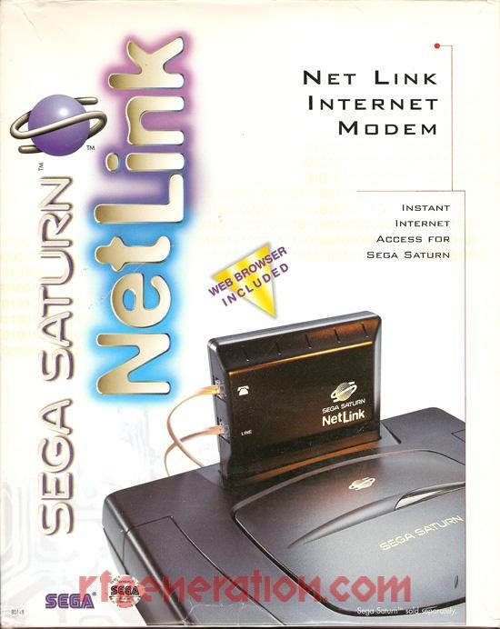 NetLink Modem Official Sega Box Front Image