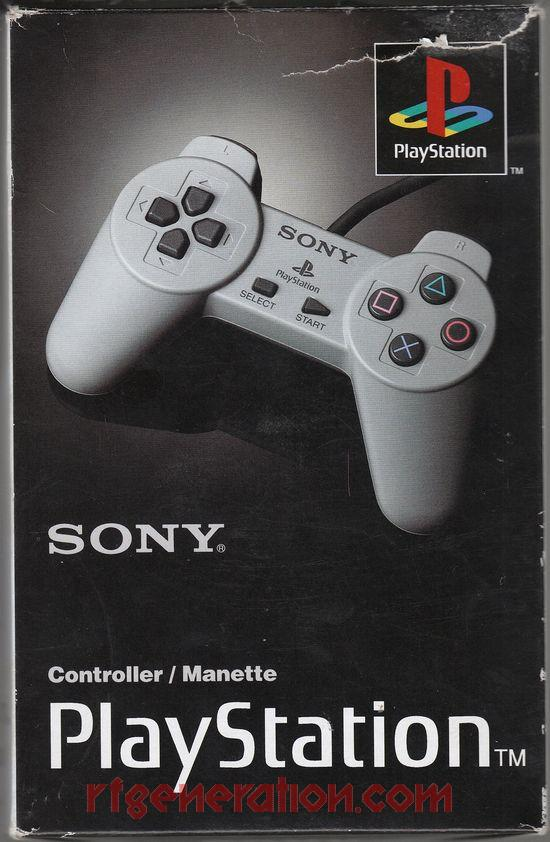 PlayStation Digital Controller Official Sony Box Front Image