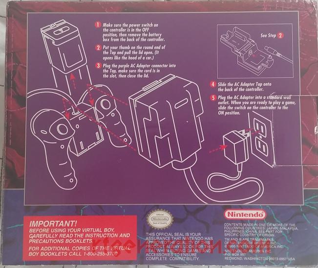 AC Adapter Tap Set  Box Back Image