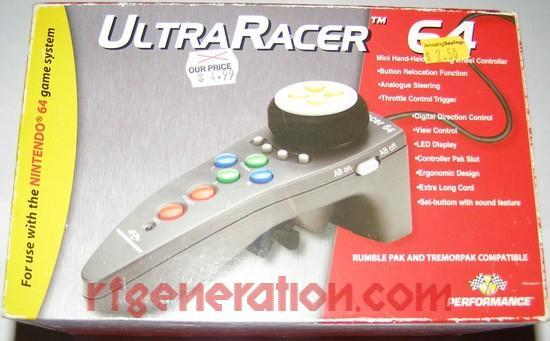 UltraRacer 64  Box Front Image