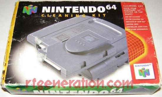 Cleaning Kit Official Nintendo Box Front Image