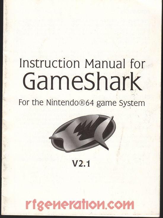 GameShark  Manual Scan