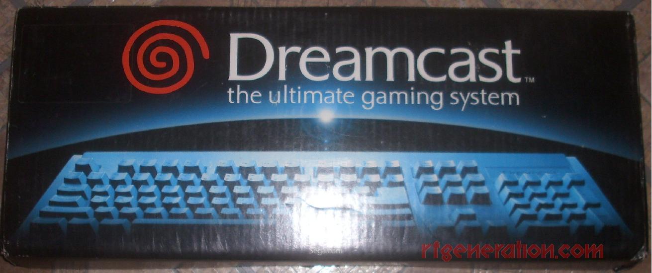 Sega Dreamcast Keyboard  Box Front Image