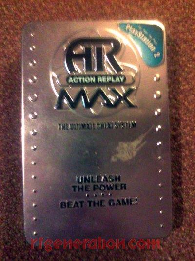 Action Replay Max 2004 Box Front Image
