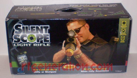 Silent Scope Light Rifle  Box Front Image