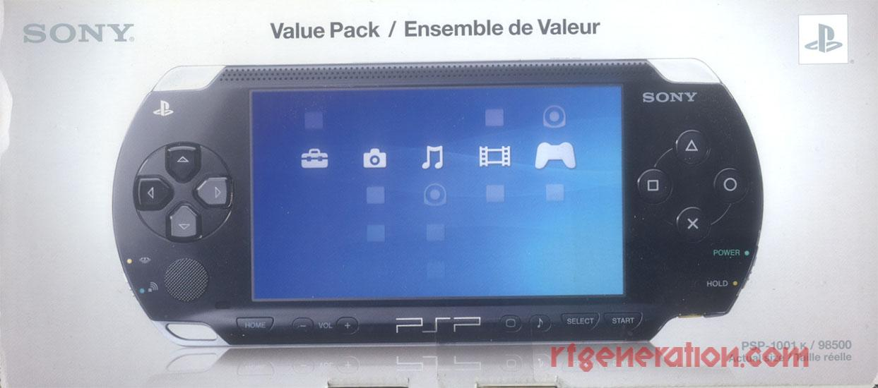 Sony PSP Value Pack Box Front Image
