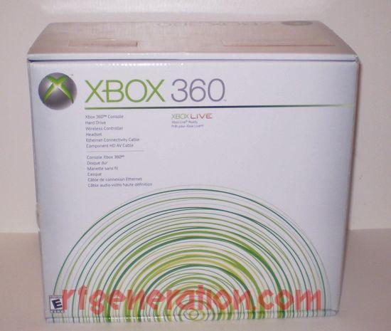 Microsoft Xbox 360 Premium Box Front Image