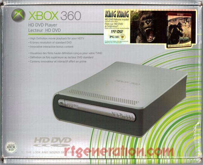 HD DVD Player  Box Front Image
