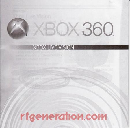 Xbox LIVE Vision  Manual Scan