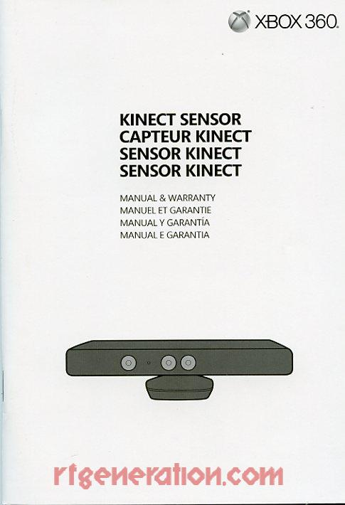 Microsoft Kinect Kinect Adventures Bundle Manual Scan