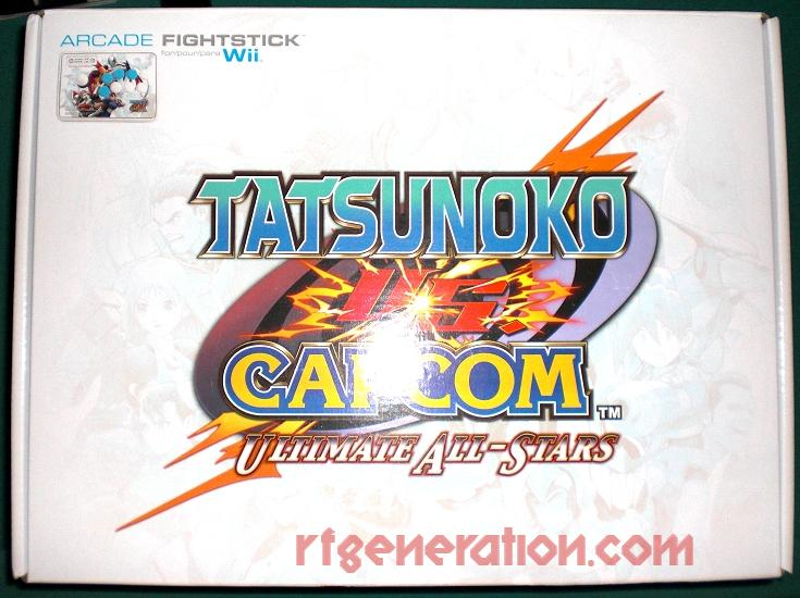 Arcade FightStick Collector's Edition - Tatsunoko VS. Capcom Box Front Image