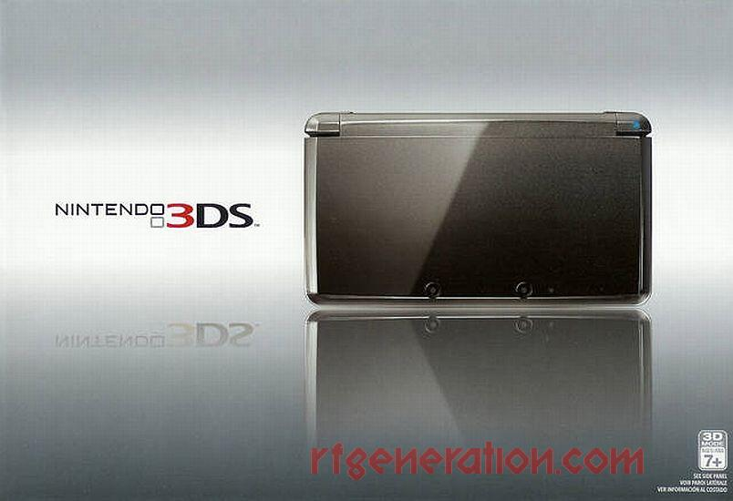 Nintendo 3DS Cosmo Black Box Front Image