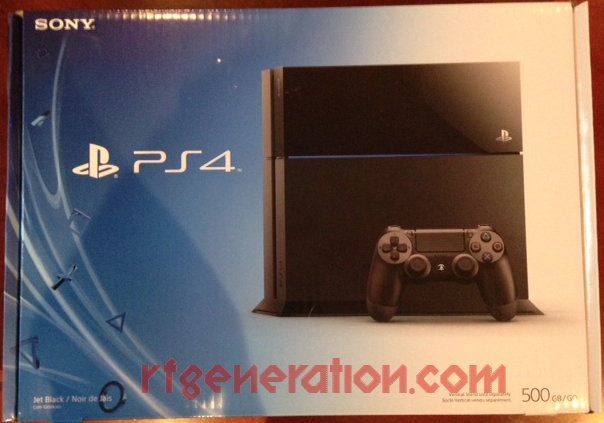 Sony PlayStation 4 500GB Box Front Image