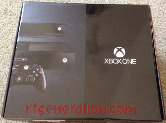 Microsoft Xbox One Day One Edition Box Front Image