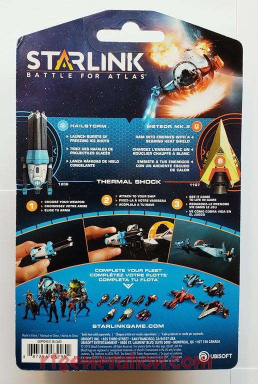 Starlink Weapons Pack: Hailstorm & Meteor Mk. 2  Box Back Image