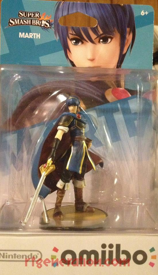 Amiibo: Super Smash Bros.: Marth  Box Front Image