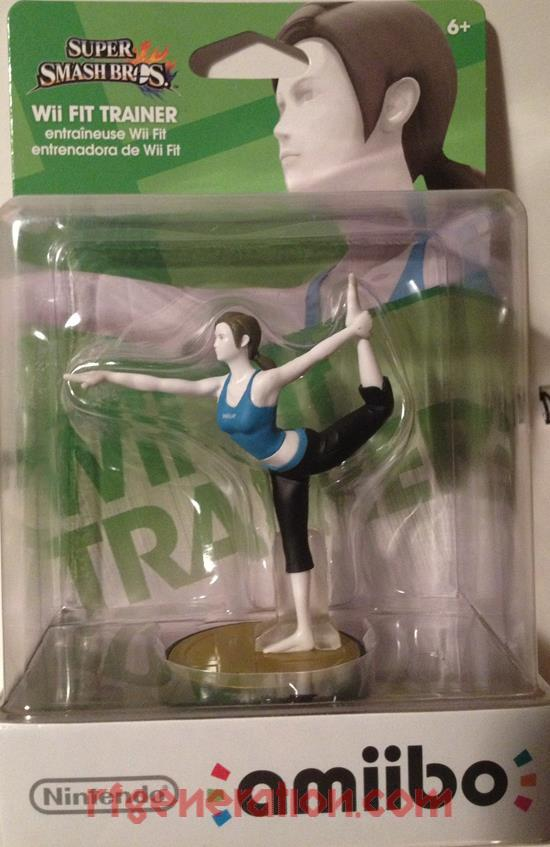 Amiibo: Super Smash Bros.: Wii Fit Trainer  Box Front Image