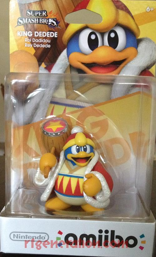Amiibo: Super Smash Bros.: King Dedede  Box Front Image