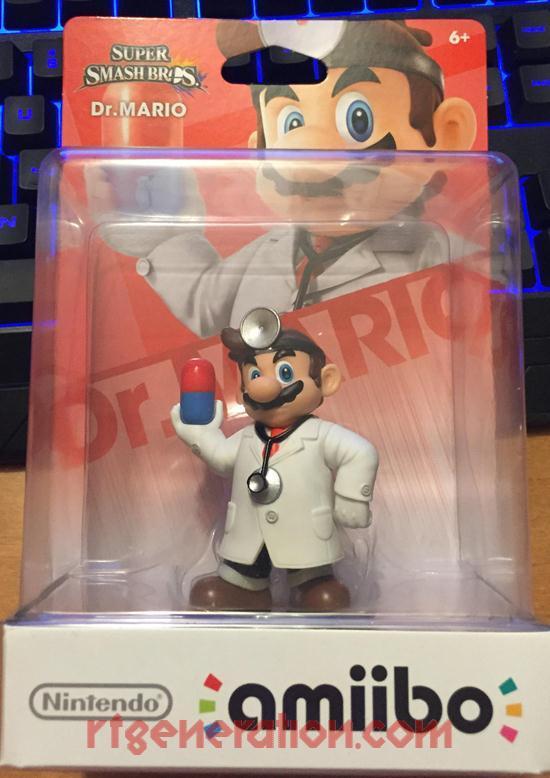 Amiibo: Super Smash Bros.: Dr. Mario  Box Front Image