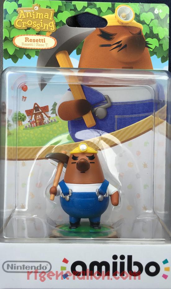 Amiibo: Animal Crossing: Resetti  Box Front Image