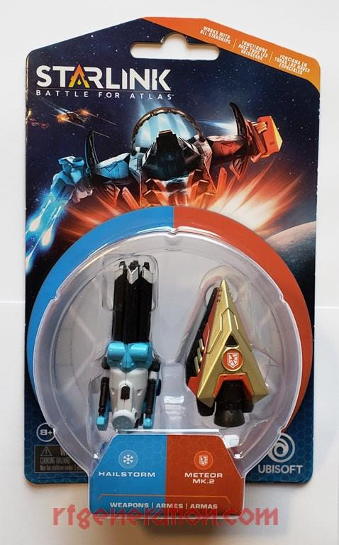 Starlink Weapons Pack: Hailstorm & Meteor Mk. 2  Box Front Image