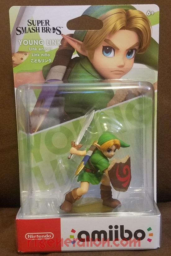 Amiibo: Super Smash Bros.: Young Link  Box Front Image
