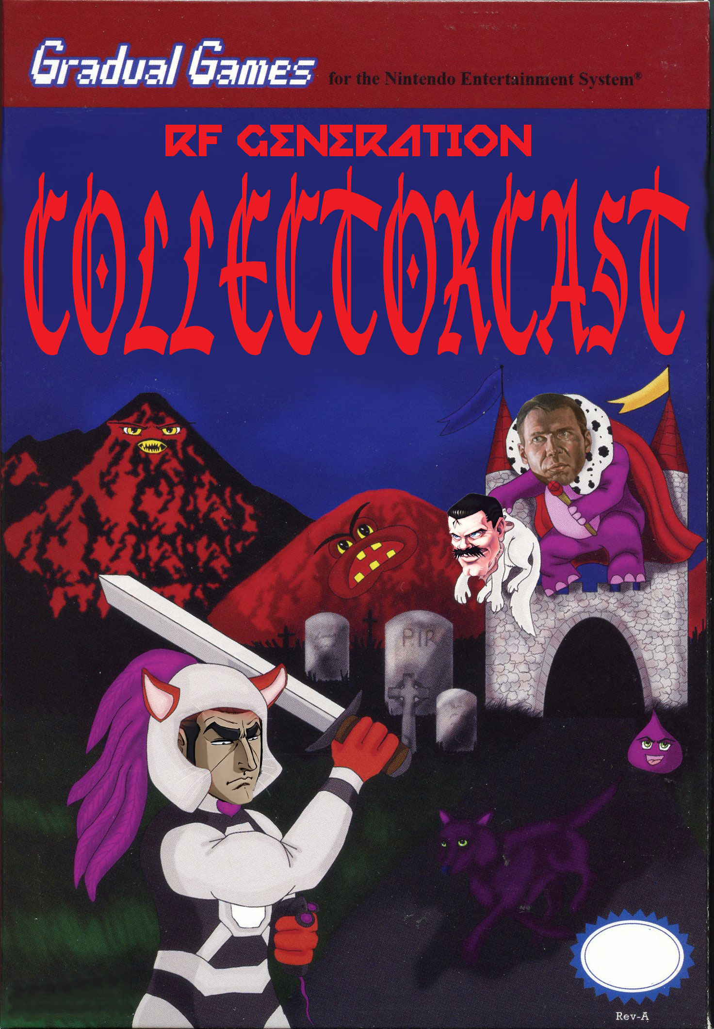 Collectorcast Episode 14: Storming the Podcatsle