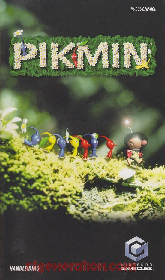 Pikmin <sup>[Player's Choice]</sup> Manual Scan